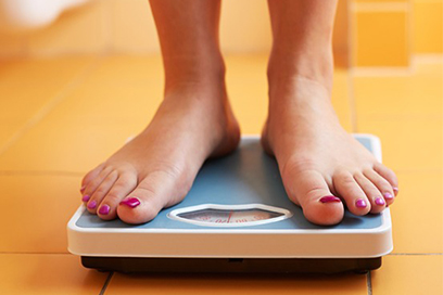 Does your weighing scale make you cry? Hide it!